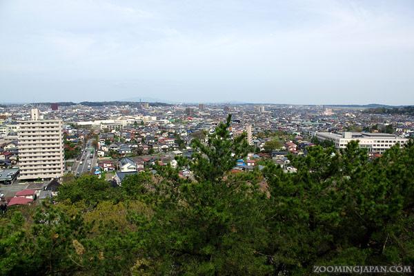 Kubota Castle, Senshu Park in Akita