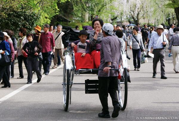 Kakunodate rickshaw