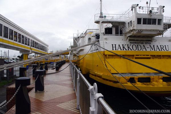 Memorial Ship Hakkoda-Maru in Aomori City
