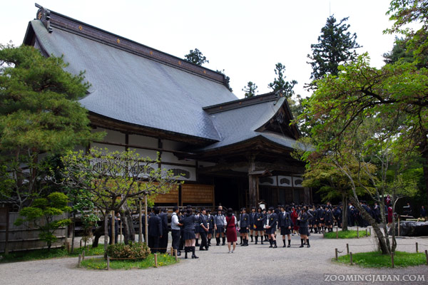 Chusonji Temple in Hiraizumi, Main Hall