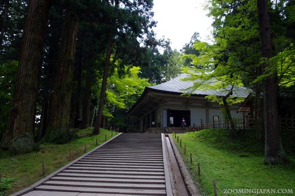 Chusonji Temple in Hiraizumi, Konjikido - Golden Hall