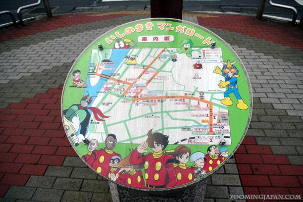 Ishinomaki Manga Road, Ishinomori, Miyagi Prefecture