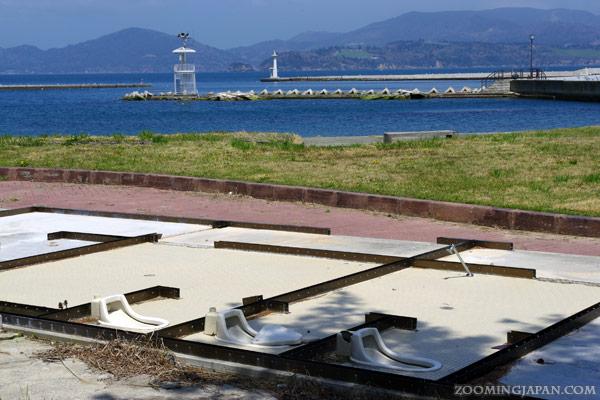 Tashirojima, Cat Island, Nitoda, damage by tsunami 2011
