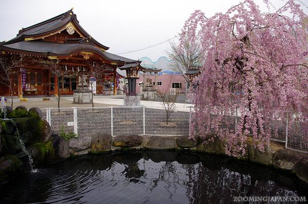 Suwa Shrine in Yamagata