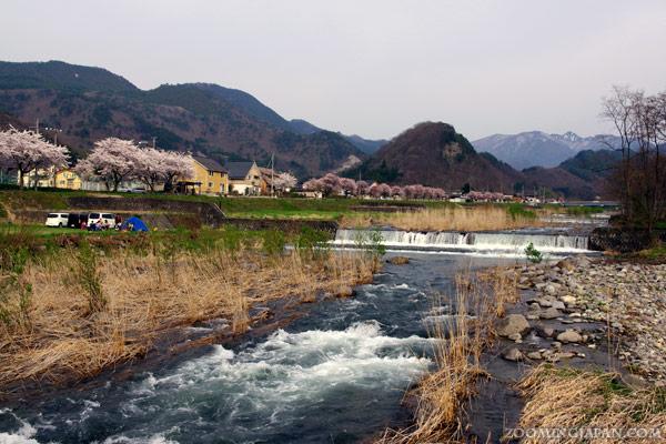 Mamigasaki River Yamagata