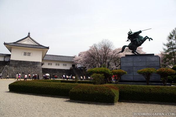 Yamagata Castle, Yoshiaki Mogami