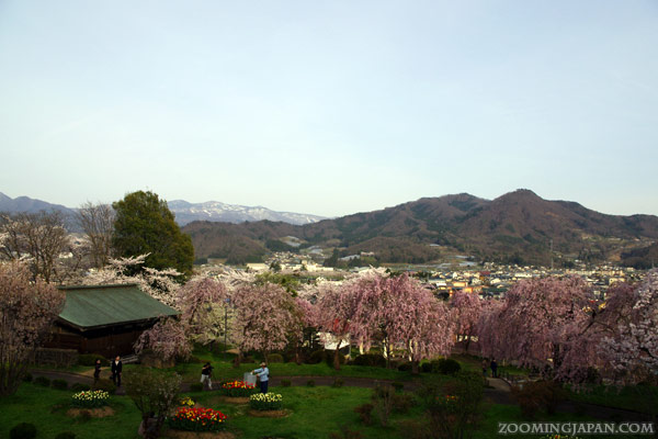 Kaminoyama Castle in Yamagata