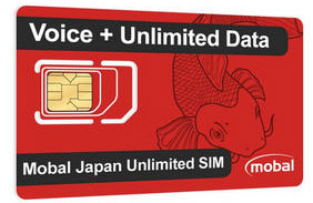 Mobal Japanese SIM card
