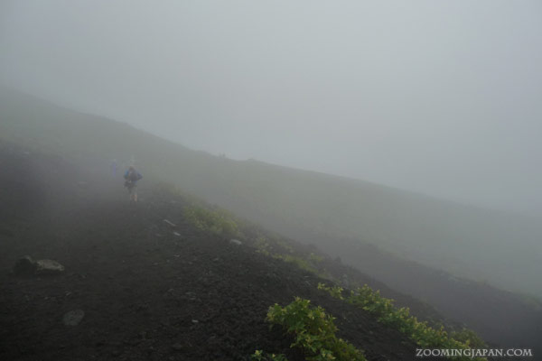 Ame Onna on Mt. Fuji