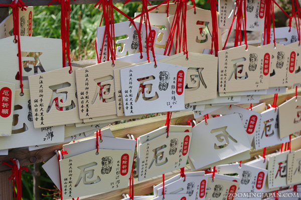 Ema, wooden wishing plaque of Nokogiriyama