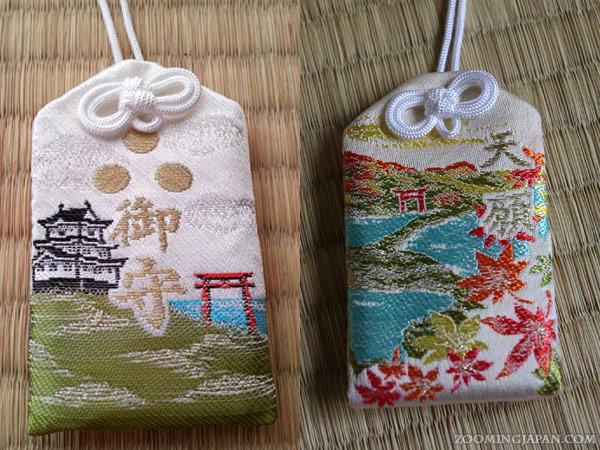 omamori Japanese lucky charms