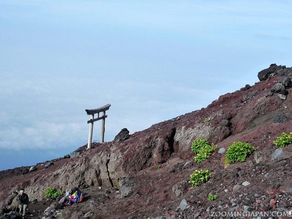 Climbing Mount Fuji in August