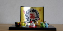 12 Japanese / Chinese Zodiac Animal Figure Set