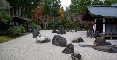 largest stone garden in Japan (Mt. Koya)