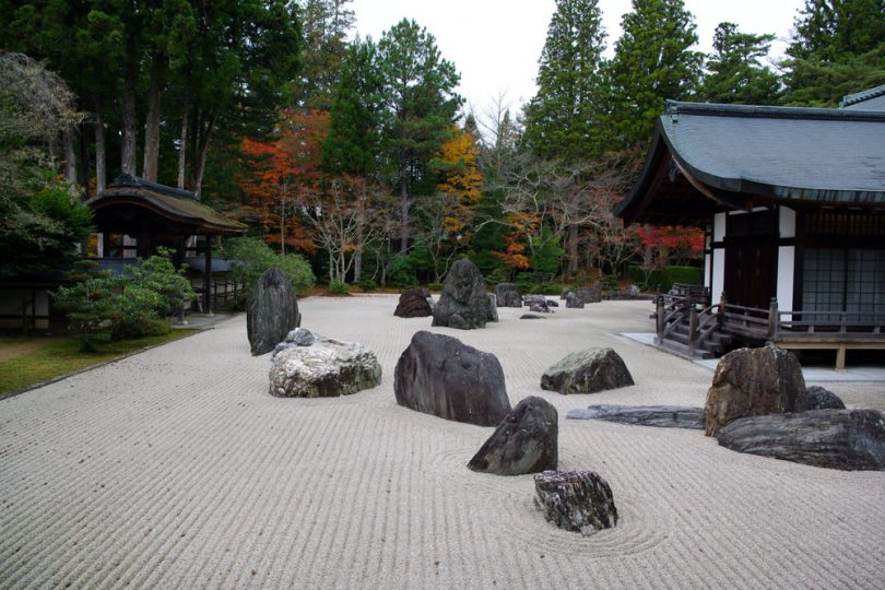 largest stone garden in Japan (Mt. Koya)