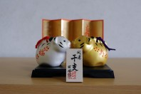 Japanese Year of the Tiger figures