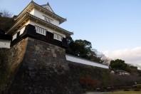 Kushima Castle in Omura Park (Nagasaki Prefecture)