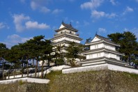 Shimabara Castle in Nagasaki