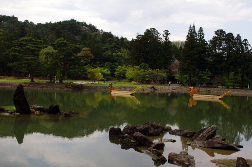 Motsuji Temple in Hiraizumi