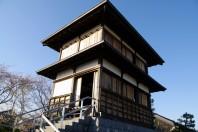 Tanaka Castle in Fujieda, Shizuoka Prefecture