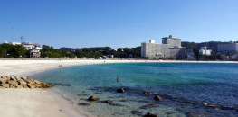 Shirahama's beach in Wakayama Prefecture