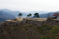 Takeda Castle in Hyogo Prefecture
